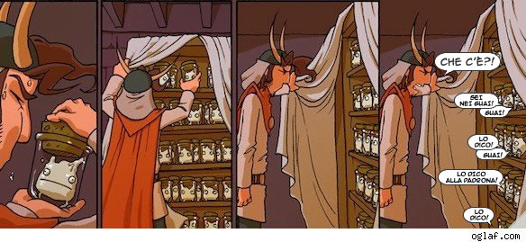 Oglaf - estratto dall'episodio 'A Hundred Tiny Eyes'