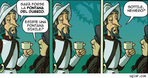 Oglaf - estratto dall'episodio 'Fountain of Doubt'